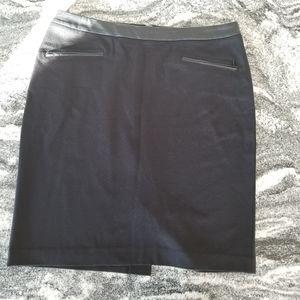 Talbots Day or Night Classic Back Skirt Sz 12